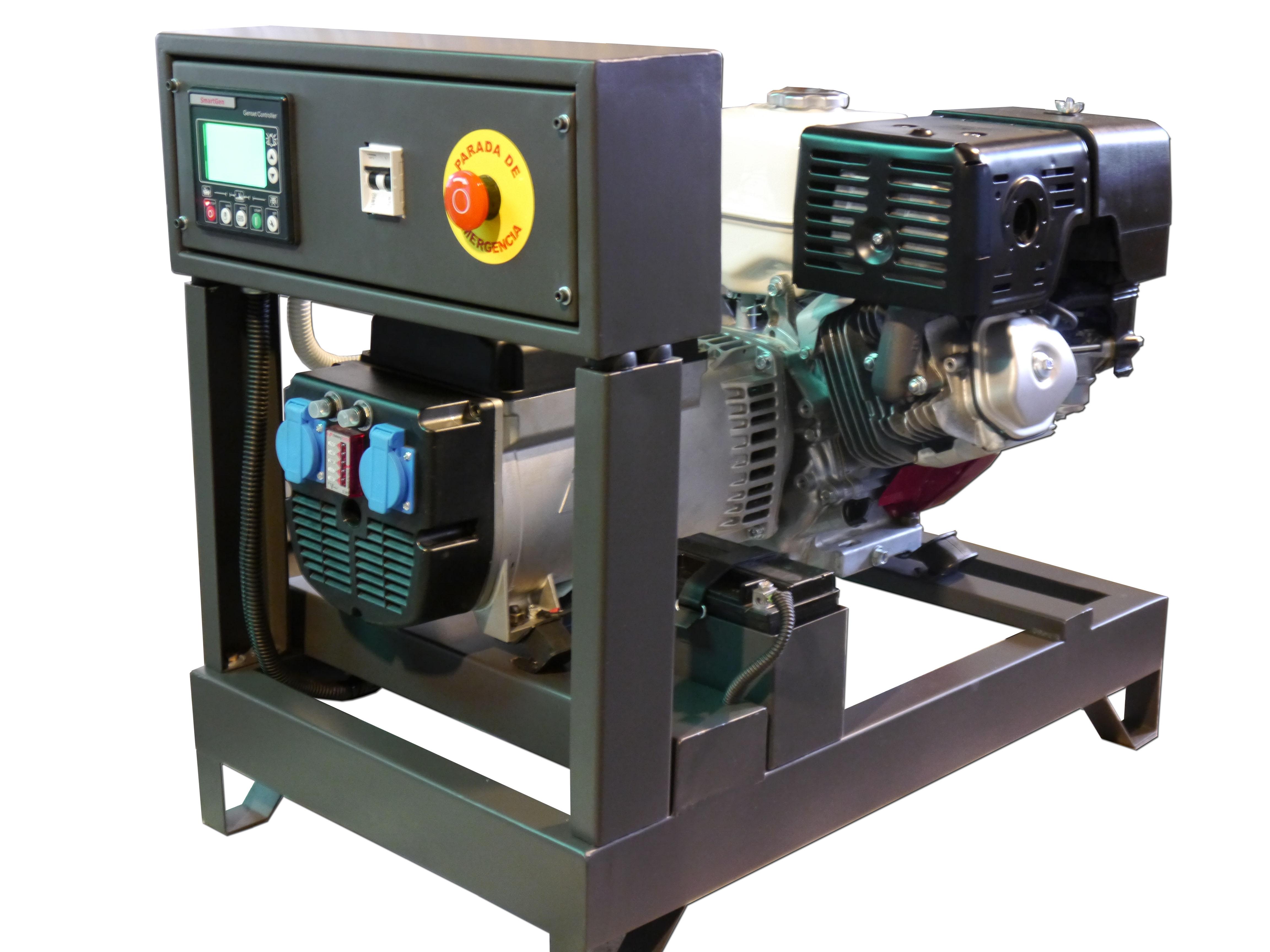Grupo electr geno generador 8 kva honda con transferencia for Generador arranque automatico