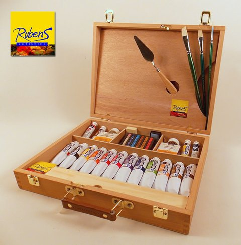 SET DE OLEOS RUBENS KIT ESPECIAL x60ml (R02)