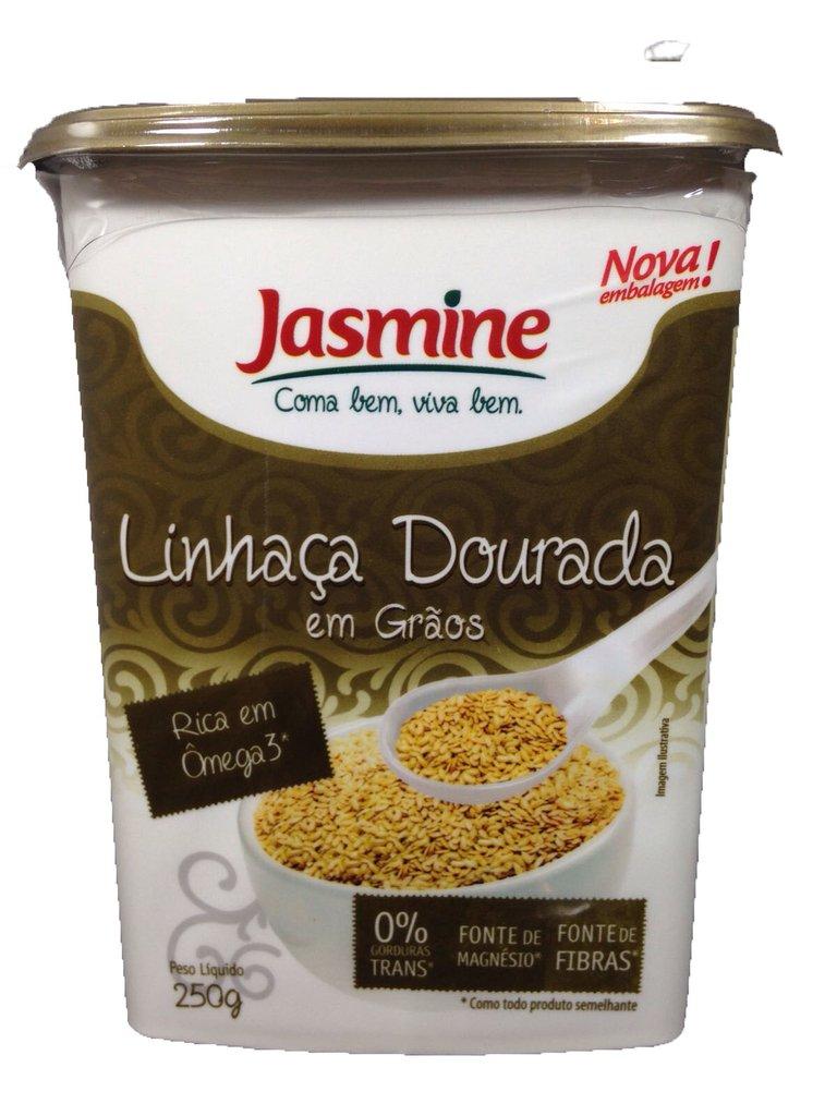 Linhaça Dourada em Grãos 250g - Jasmine