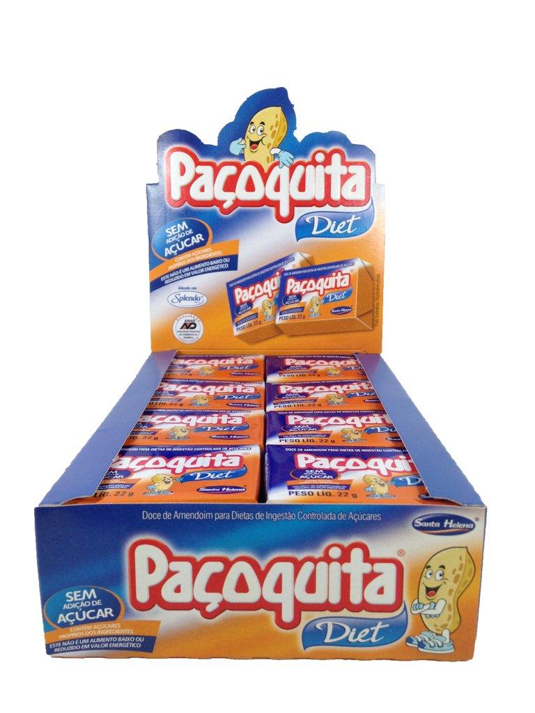 Paçoquita Diet 24unid. x 22g - Santa Helena