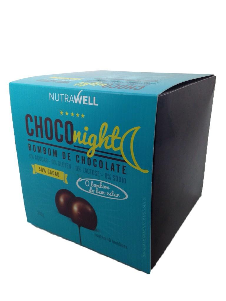 Choconight Bombom de Chocolate 16 unid. x 13,5g - Nutrawell