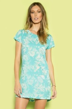 Vestido T-Shirt Tropical