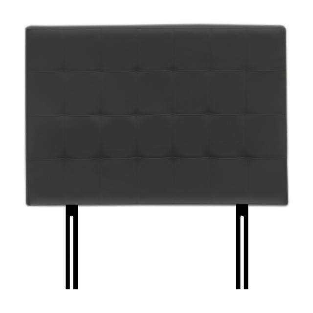 cabecero cama doble negro
