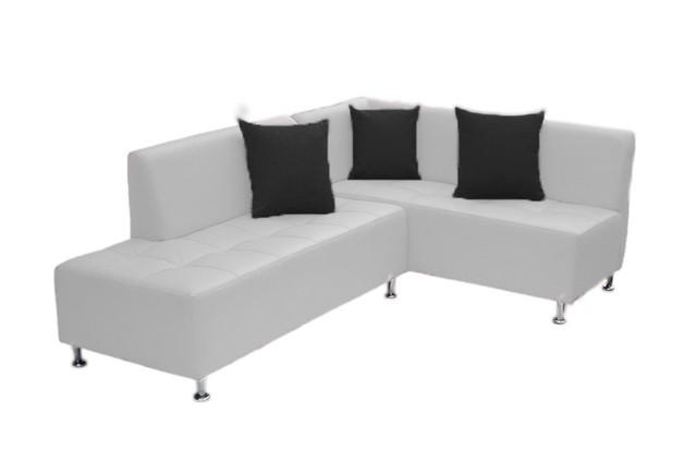 Sof esquinero brazo derecho blanco for Sofa cama esquinero