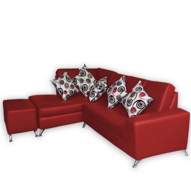 Sof esquinero torino rojo - Sofa esquinero cama ...