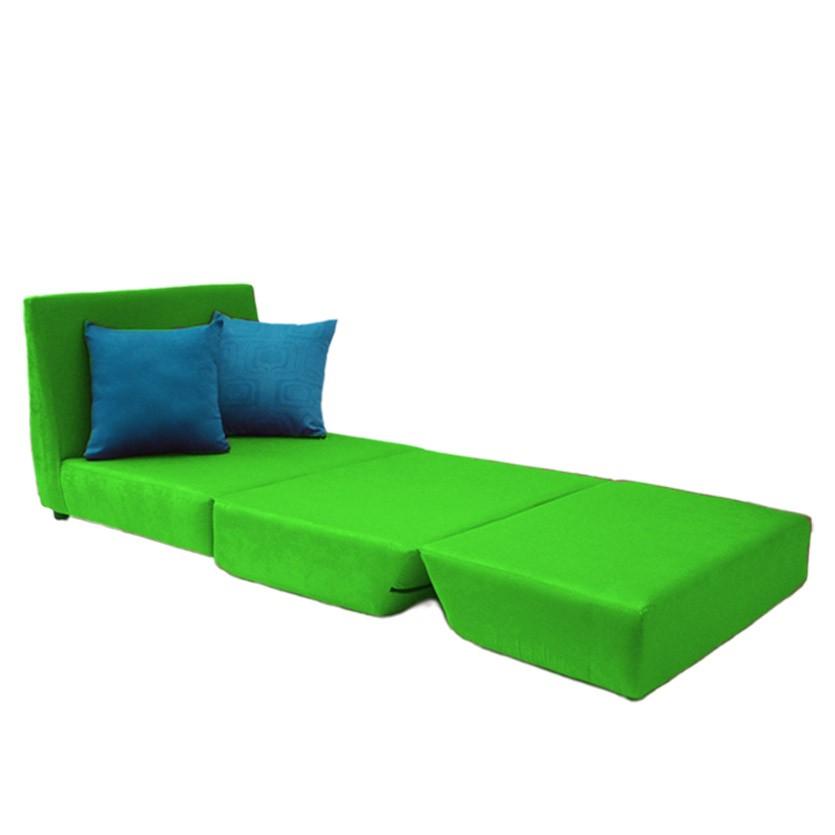 Sof cama tipo lido lona verde manzana - Sofa cama verde ...
