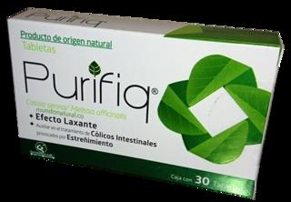 PURIFIQ, 30 TABLETAS, EFECTO LAXANTE - Mundo Natural