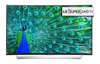 LG Super UHD Smart 3D TV Curvo 65