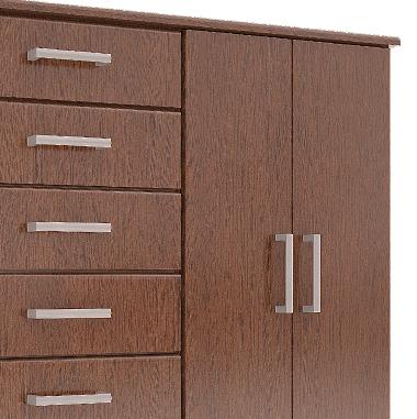 Amoblamientos de dormitorio orlandi chifonier 2 puertas 6 for Amoblamientos para dormitorios