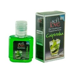 Soft Love - Gel Beijável para Sexo Oral Sabor Menta Hot