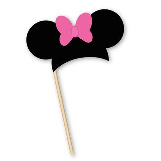 Minnie // Props para PhotoBooth - Fiestas Cancheras