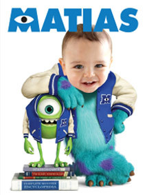 Stickers personalizados de MONSTER INC - comprar online
