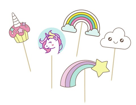 Unicornios // Props para PhotoBooth