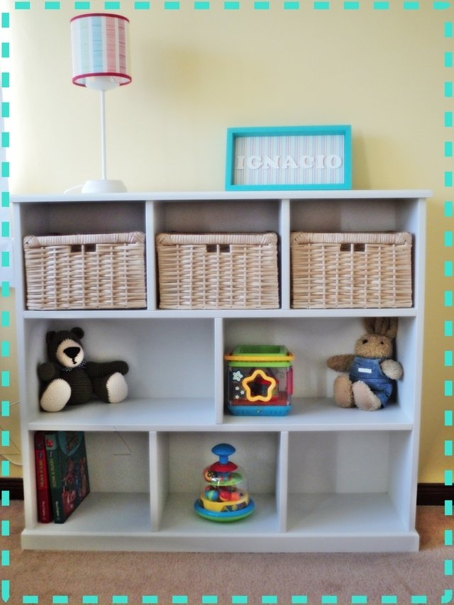 Biblioteca nachito 1 metro for Muebles laqueados