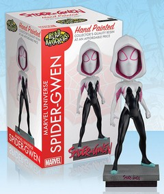Marvel – Head Knocker – Spider-Gwen Classic Masked Resin - NECA
