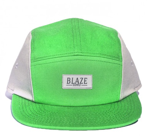Boné Blaze 5panel Acqua Grey