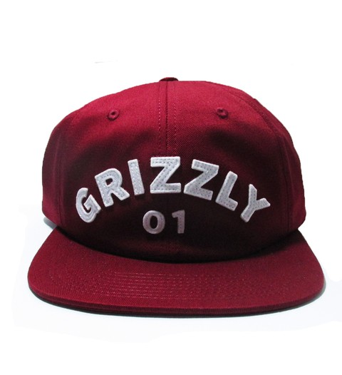 Boné Grizzly 6panel Aplly Strapback