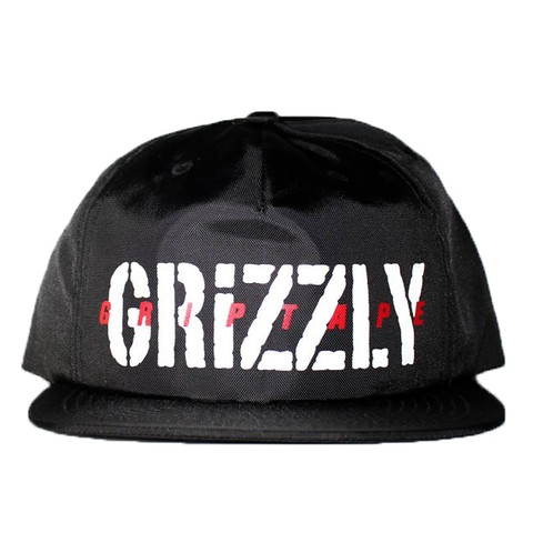 Boné Grizzly 6panel Script Snapback