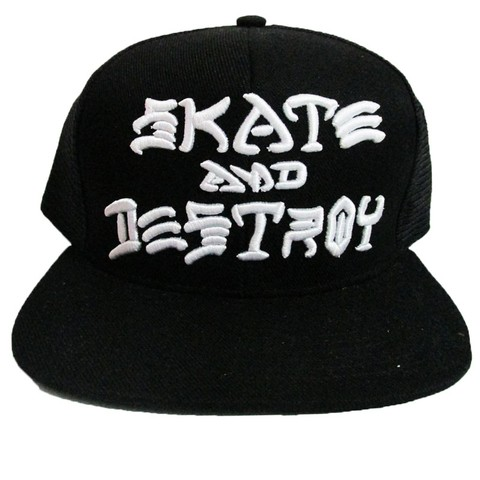 Boné Thrasher Skate and Destroy Snapback