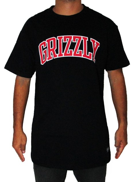 Camiseta Grizzly Top Team