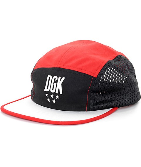 Boné DGK 5Panel Flight Bl