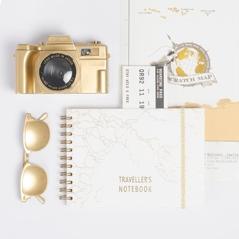 Travellers Book - World