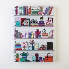 Cuaderno A5 - Sweet Home - comprar online