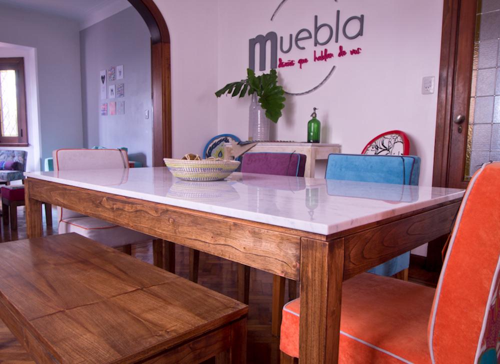 Mesa de 90 y sillas comedor for Comedor de marmol 8 sillas precio