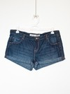 Shorts Jeans Escuro - Tam G