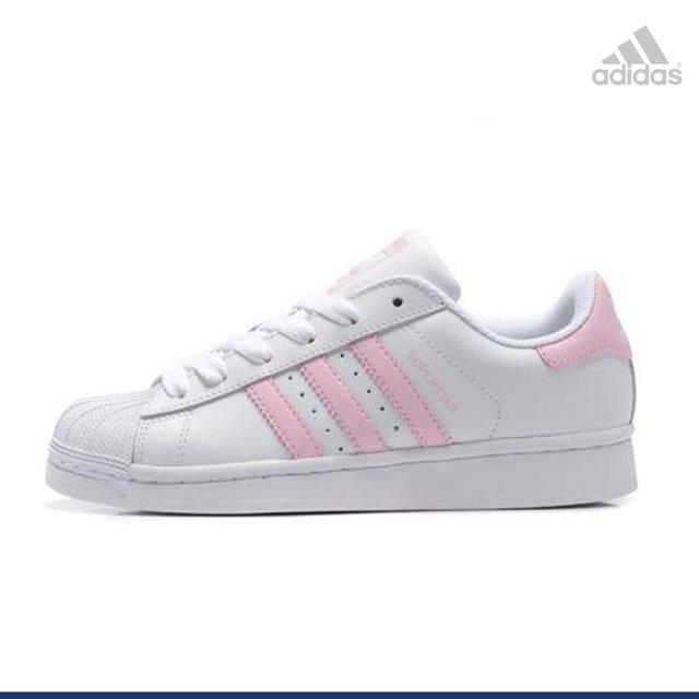 adidas superstars rosa