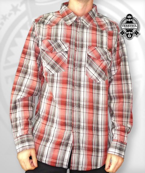 CAMISA MANGA LONGA XADRES - BLACK SHEEP