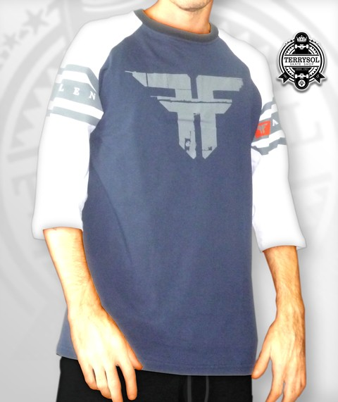 CAMISETA RAGLAN 3/4 HEATHROW - FALLEN