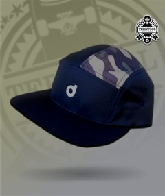 five 5 panel preto camuflado drama original