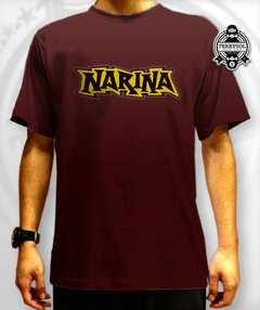 camiseta narina bordo