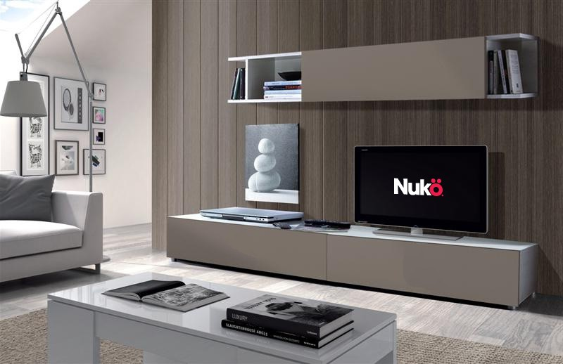 Mueble TV LCD Rack Organizador Modular Vajillero Idra
