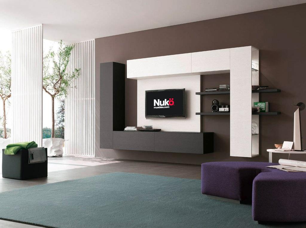 Muebles para ba o laqueados for Muebles modernos para living