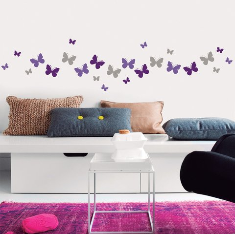 Vinilo color butterflies- Myvinilo