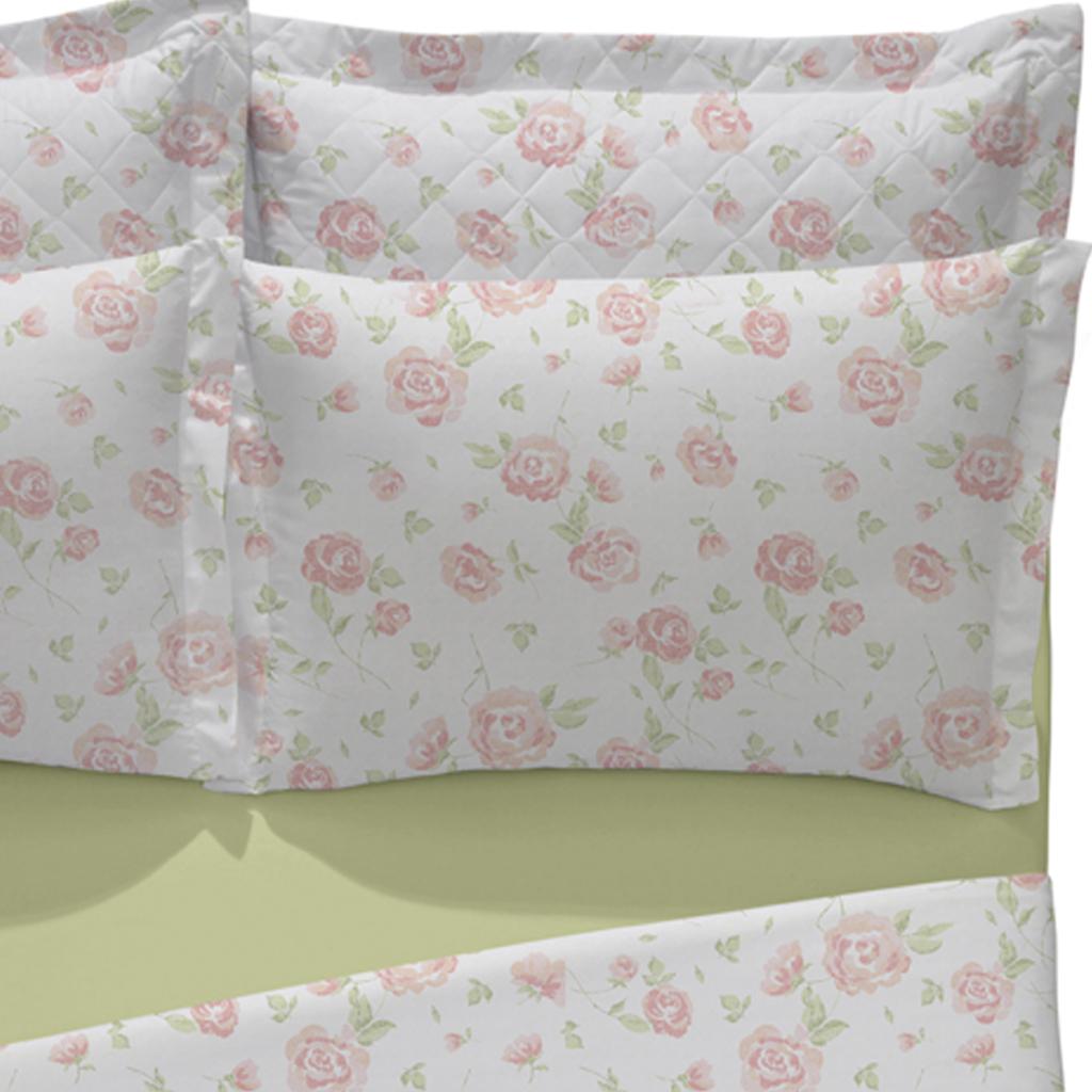 Sabana arco iris queen size 100x100 algodon dise o helena for Sabanas para cama king size