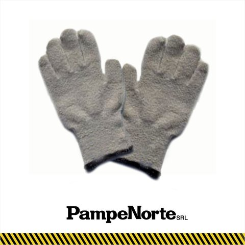 Guante Pampero Terrycloth Industrial liso - pack x 10 unid.
