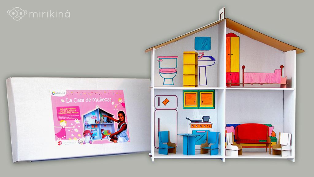 Muebles casa munecas carton 20170810042136 - Como hacer muebles para casa de munecas ...