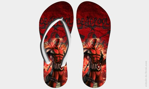 Chinelo Deadpool