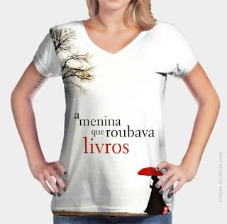 ... Camiseta A Menina que Roubava Livros - comprar online ... e9f246a6889b9