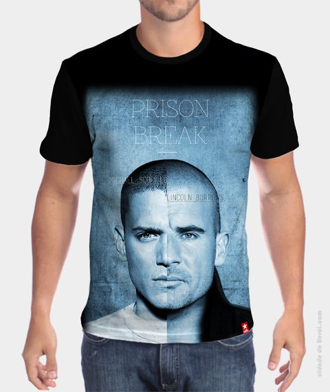 Camiseta Irmãos - Prison Break