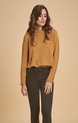 H558 Sweater c/roturas ALMERIA