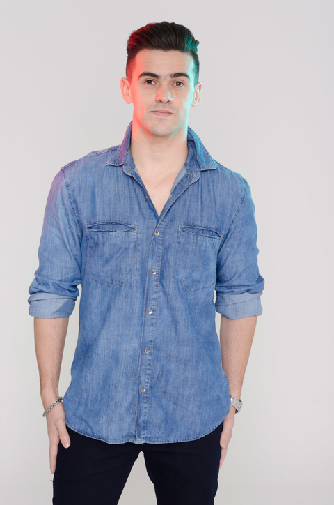 Camisa Jeans Masculina RD114