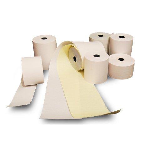 Rollos de papel qumico duplicado 76 mm x 30 metros Pack 10 unidades