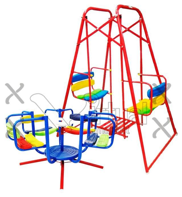 Combo 1 calesita infantil y hamaca cod 9000 for Jardin infantil serrano 78