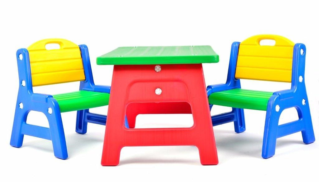 Combo mesita infantil con dos sillitas rodacross - Mesita con sillas infantiles ...