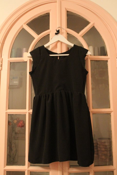 CREMIEUX DRESS - NEGRO LISO