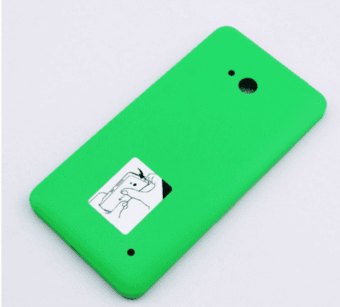 TAMPA MICROSOFT LUMIA 640 DTV VERDE - comprar online